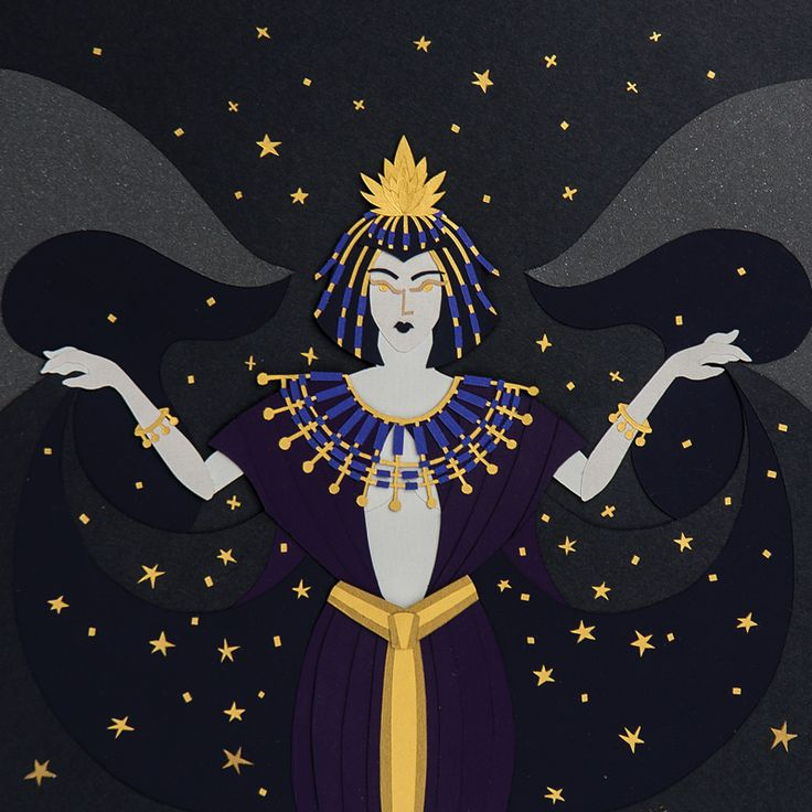 #mebekka #Nut #goddess #sky #stars  #heaven #ancient #Egyptian #religion #nudewoman #Earth #fingers #toes #cardinalpoints #body #illustrated #starfilledsky #mother #gods #paper #art #papercut #cutoutpaper #illustration