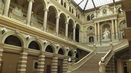 Palacio de Justicia de Viena - Austria