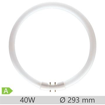 Tub fluorescent circular Philips Master TL5 Circular 40W, 2GX13, 12000 ore, 3000k, lumina calda