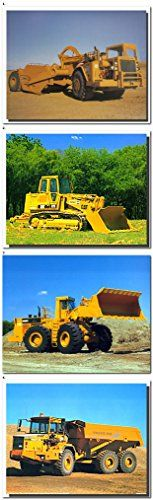 Absolutely excellent! Delight the ambience of your living room with this yellow Caterpillar land scraper truck art print poster. It will be a perfect gift for someone who were interested in trucks. So what are you waiting for, grab this wonderful wall poster for its perfect quality and amazing color accuracy.