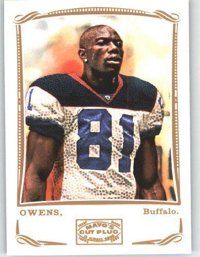 Terrell Owens Buffalo Bills Cards