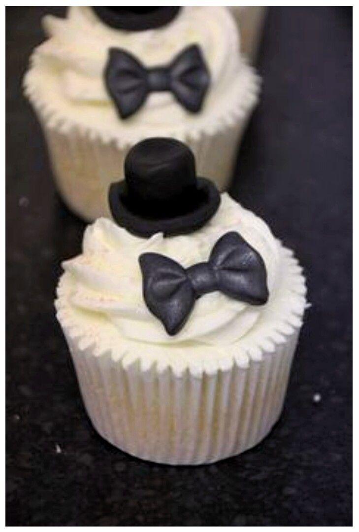 Tuxedo Cupcakes. | https://lomejordelaweb.es/