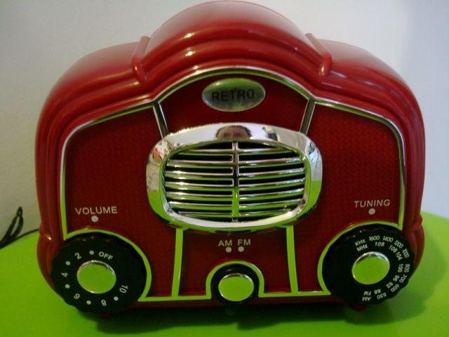 radioRetro Radios, Red Radios, Antiques Radios, Radios Radios, Vintage Radios