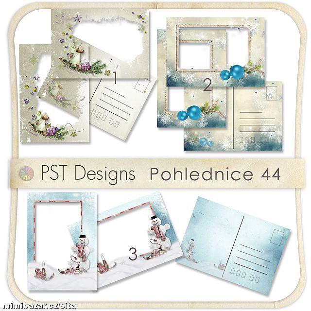 Vánoční pohlednice 44