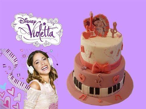 Gâteau Violetta par Cake design - Breakforbuzz