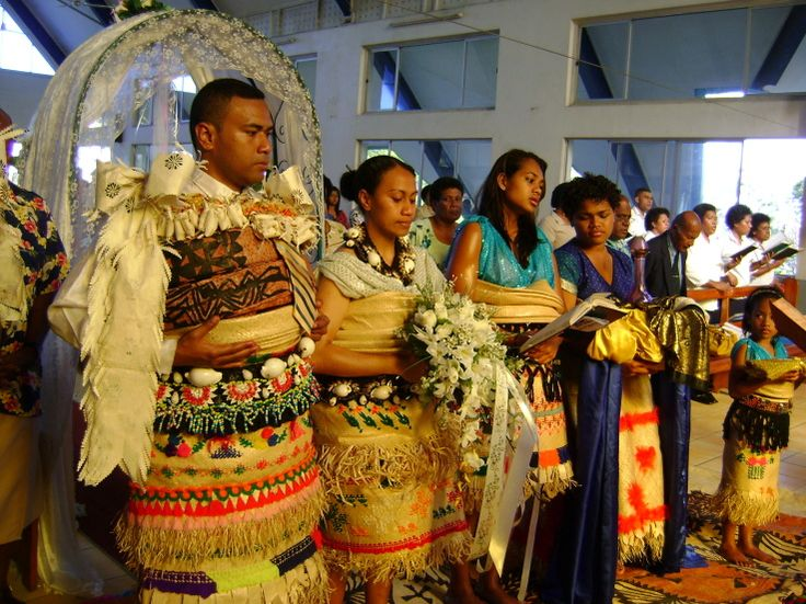 Tongan wedding.