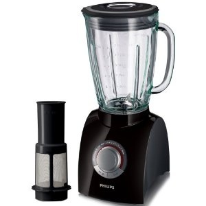 Philips HR2084/90 Black Blender with Fruit Filter and 2 Litre Jug, 650 Watt: Amazon.co.uk: Kitchen & Home