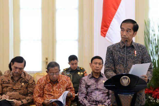 Jokowi: 2017 Pemerintah Fokus pada Pemerataan