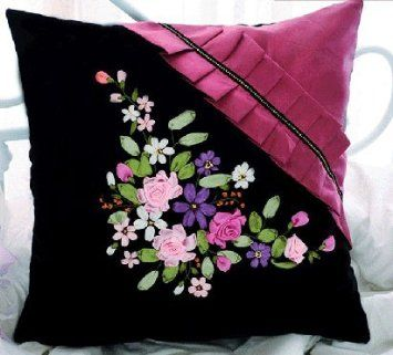 Images Of Ribbon Embroidery Designs Google Search