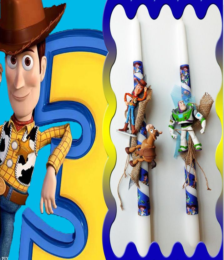 Λαμπάδες Disney Toy Story