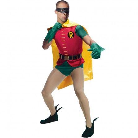 Mens 60s Classic Robin Costume