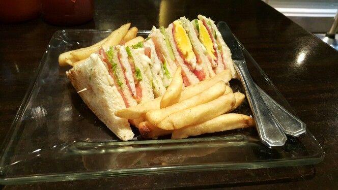 Sandwich bacon
