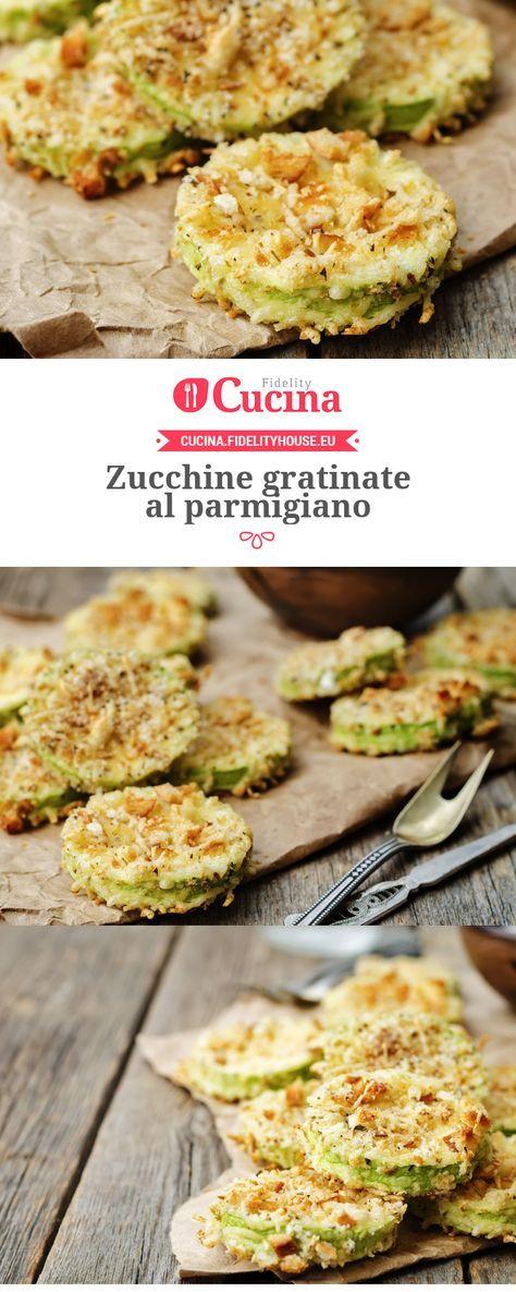 Le #zucchine gratinate al #parmigiano sono un #contorno sfizioso, facilissimo da preparare ma che risulta molto goloso.