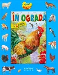 Aceasta carte contine 8 pagini cu puzzle care ajuta la cunoasterea  animalelor, intr-un mod distractiv. Ea arata cum traiesc aceste animale  la ferma.