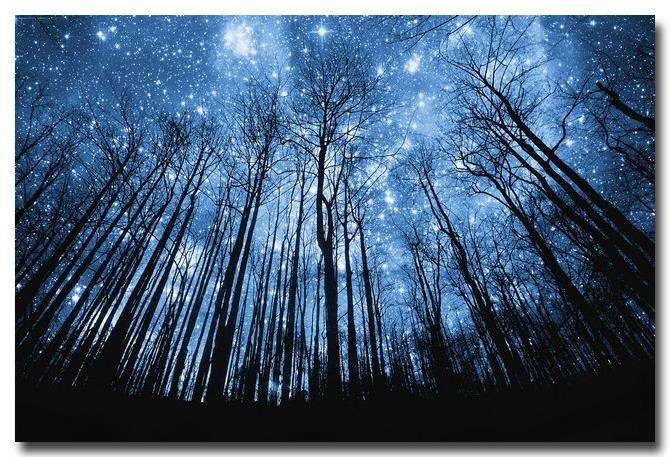 Звездная Ночь-Galaxy Космические Звезды Туманность Искусство Шелковый Плакат 12x18 24x36 вселенная Пейзаж Картинки Для Спальни Декор 027
