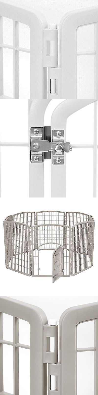 Fences and Exercise Pens 20748: Iris 8 Panel Pet Pen With Door -> BUY IT NOW ONLY: $63.99 on eBay!