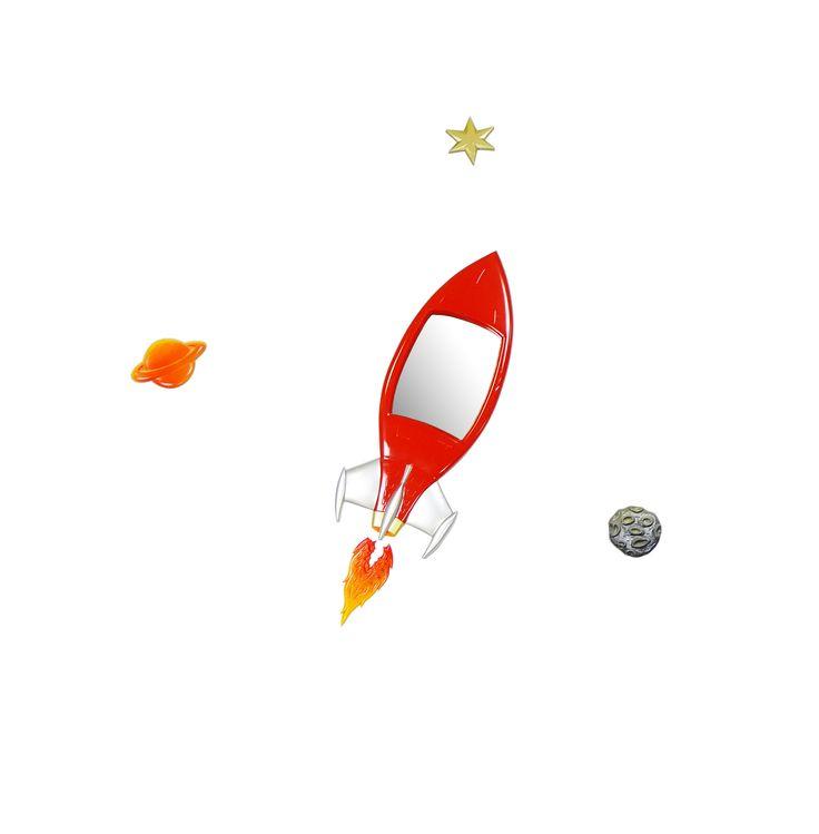 GO ROCKET through Space...