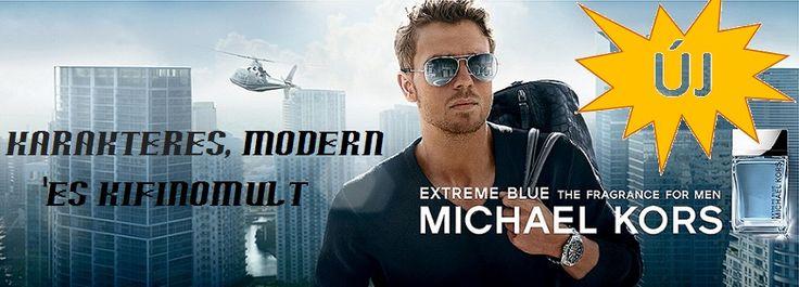 Michael Kors Man Extreme Blue férfi parfüm  Michael Kors Extreme Blue komplex, modern illatjegyei a kifinomult, vonzó férfit testesítik meg. Extreme Blue a városi férfi parfümje, aki kellő határozottsággal menedzseli életét.