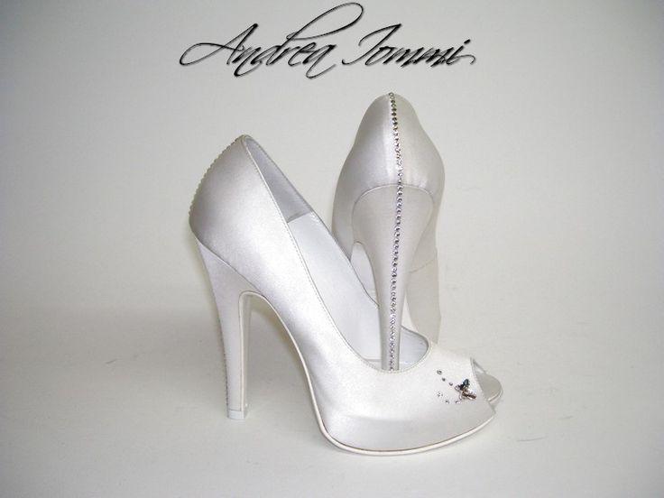 Scarpe Da Sposa Tacco 15 Cm