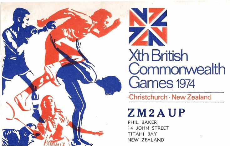 Commonwealth Games 1974. Christchurch NZ