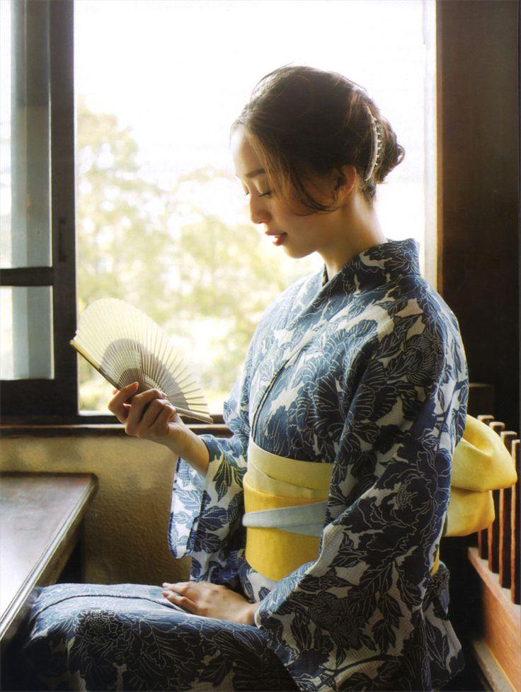girlsinkimono: 松島 花 Hana Matsushima