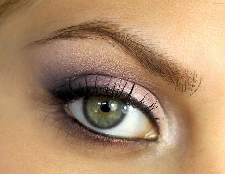#Maquillage yeux verts