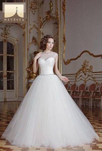 Svatební šaty Astoria bílé   Svatební šaty a společenské šaty Nevěsta