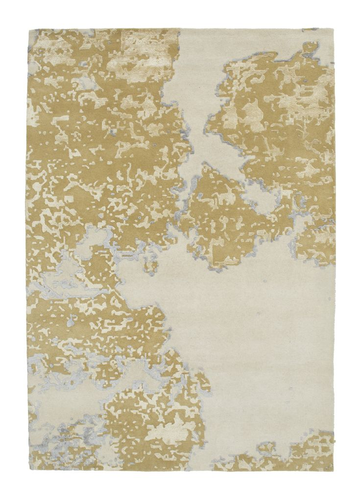 modern - cow - gold #1756  5.00 x 3.50m Himalaya Collection ~ New Zealand Wool Hand-Tussock Was R 66 500 -50 % Now R 33 250