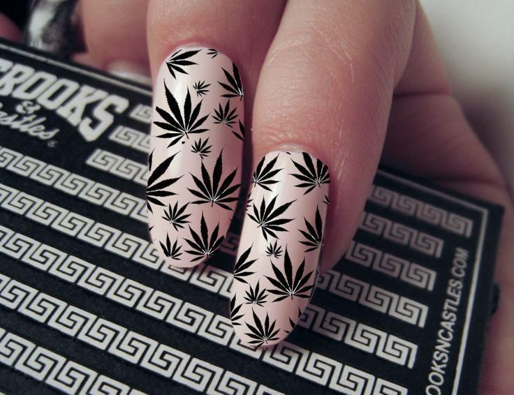 The 25 best weed nails ideas on pinterest long nails matt weeds nails la nueva tendencia en uas una locura o una protesta prinsesfo Image collections