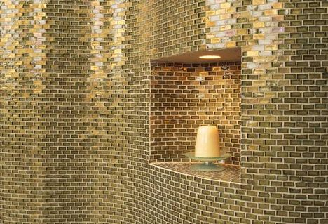 31 best images about ideas for the house on pinterest - Recycled glass tiles bathroom ...