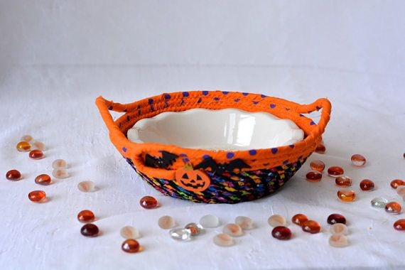 Halloween Candy Bowl Fall Party Bowl Halloween Party Dip