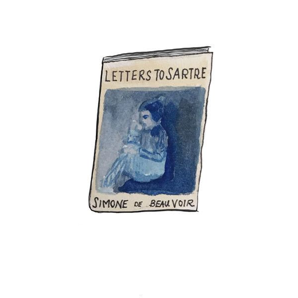 Because who doesn't like a good exotic memoir. -- Letters to Sartre: Simone De Beauvoir.
