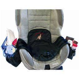 PROPRETE Protection impermeable pour siege auto avec rangement Top lorsque l'on voyage avec un enfant qui commence à être propre !