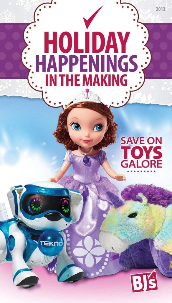 BJ's Wholesale Toy Book Released!  ~ Black Friday