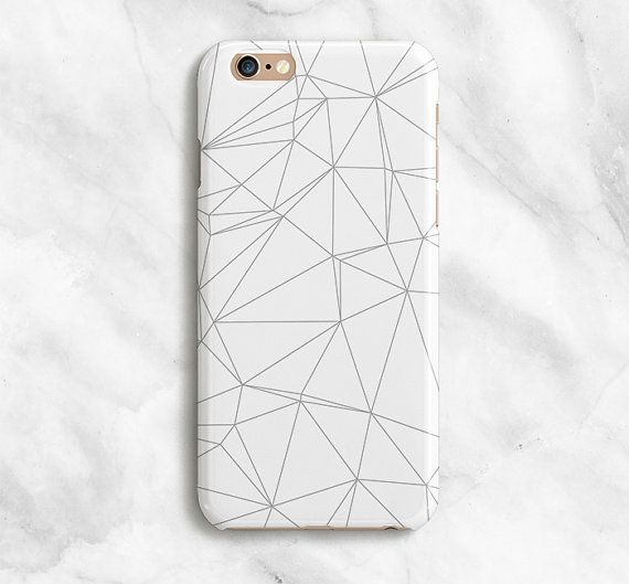 View all of LovelyCaseCo's cases here: LovelyCaseCo.Etsy.com  ///Geometric iPhone Case  Put some fun into your everyday routine with a LovelyCaseCo