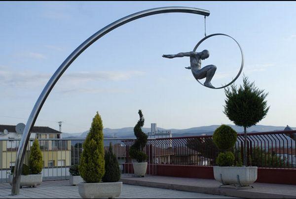 Public Sculptures by Lorenzo Quinn