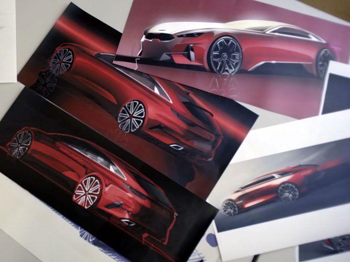 Kia Proceed Design Story Video Kia Proceed Shootingbrake Cardesign Designstory Carbodydesign Designsketching Claymodeling Kia Design Sketch Design