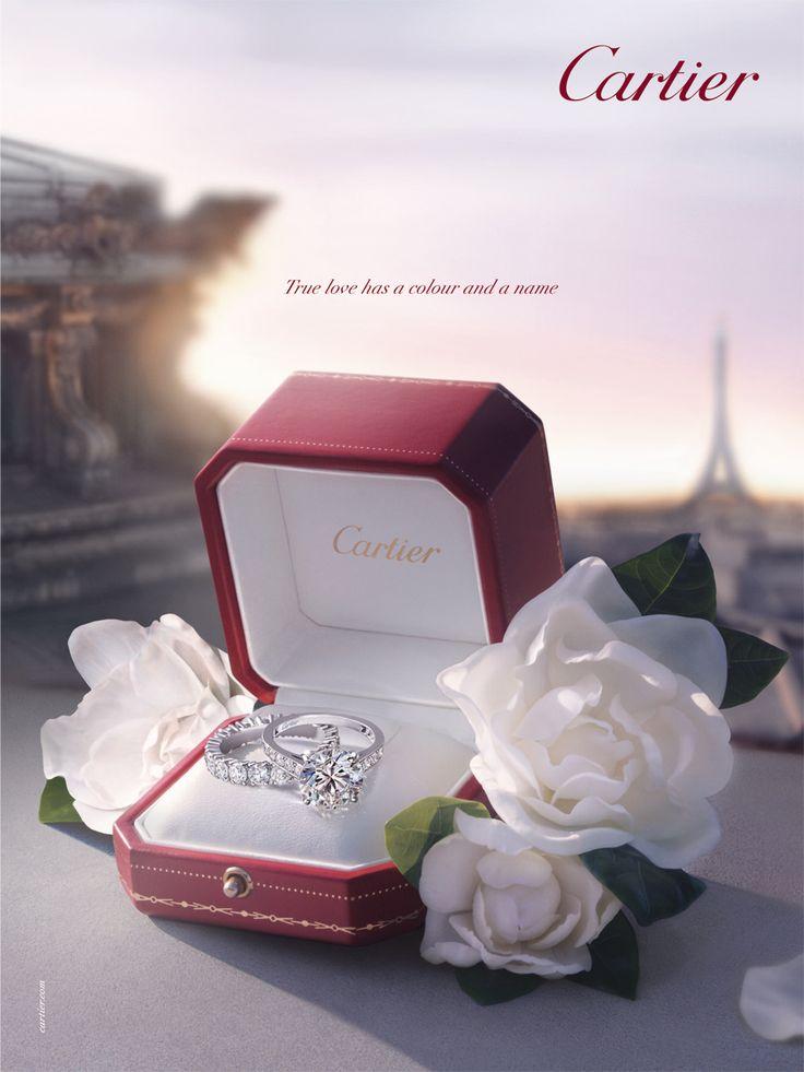 Anneaux De Mariage Cartier sur Pinterest  Bagues De Mariage Cartier ...