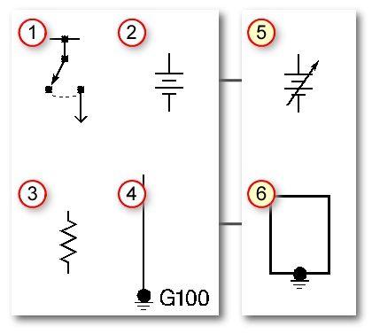 Wiring Diagrams Symbols Automobile