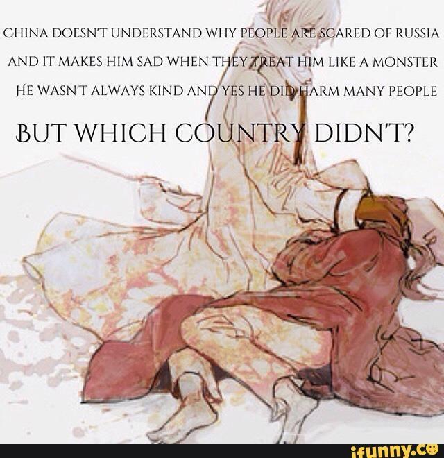 Hetalia - Russia / China (RoChu)