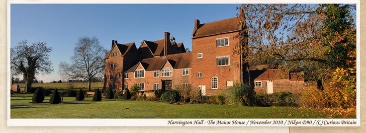 In the town I grew up!   Harvington Hall, Kidderminster, Worcestershire, 1580s.