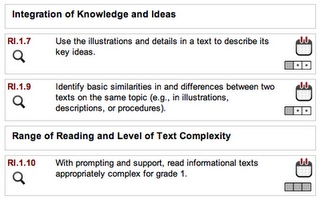 curriculum engine click and drag common core objectives into lesson plans.