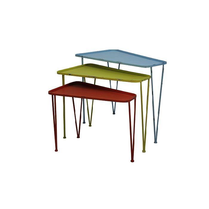 Thelma Iron Nest Tables