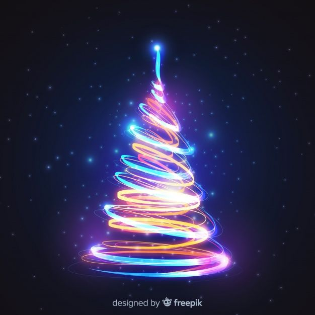 Download Colorful Lights Christmas Tree For Free Christmas Tree Art Colored Christmas Lights Xmas Cards Design