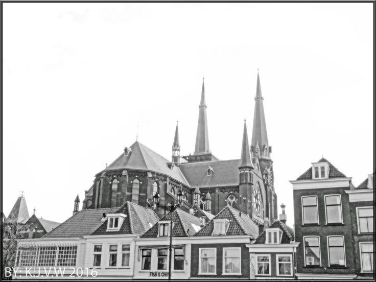 https://flic.kr/p/EJPK7L | Market Side | With the Maria van Jesse kerk in the background.
