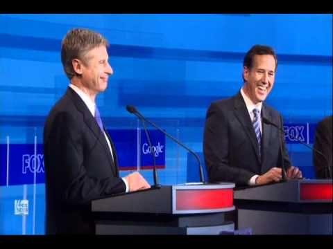 ROFLOL!!! Gov Gary Johnson on Obama's Shovel-Ready Jobs: GOP Presidential Debate 9/22/11