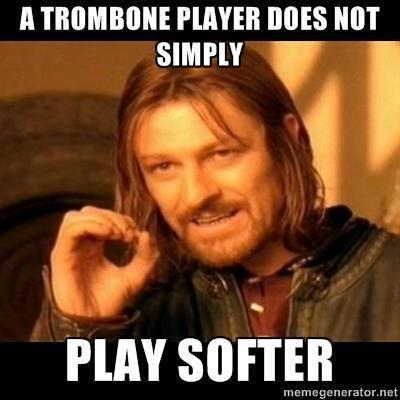 Trombones hahaha