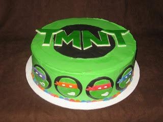 Sweet Treats: TMNT Cake