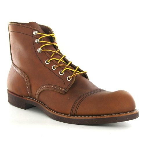 Red Wing Iron Ranger 08112 Brown Leather Mens Boots