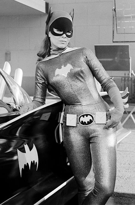 Yvonne Craig, 1937-2015. Bat Girl.